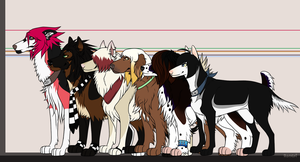 Character comparison size by Roneri