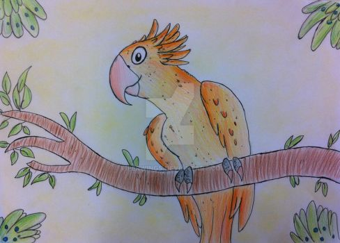 Sunny Conure 2016 by Viperwings