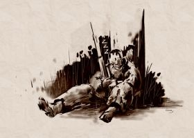 Grandpa: MGS Art Studio by E-Mann