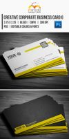 Creative Corporate Business Card 6 by EgYpToS