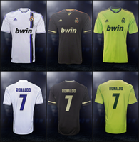 Real Madrid 2012-13 Shirts [Fanmade] by Rzr316