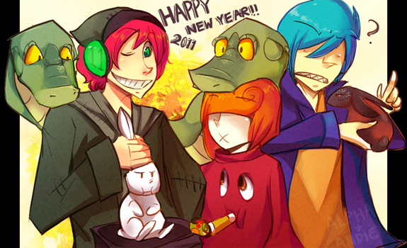 'Happy 2011' by Alphaistic