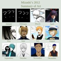 2012 SUMMARY OF ART by Mizashi