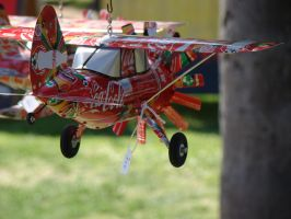Coca Cola Airplane by stephuhnoids