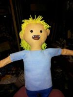 Finn the Human doll by CannibalCupcakes