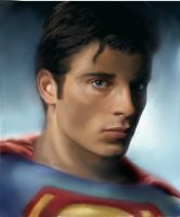 Tom Welling as Superman by nathandetroit7