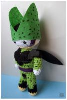 Perfect Cell amigurumi by pirateluv