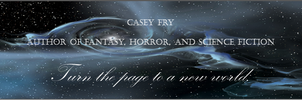 Casey Fry - Author Banner by UmbraeCalamitas