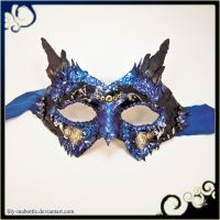 Dragon Masquerade Mask by lily-inabottle