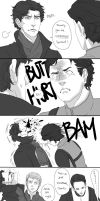 Sherlock vs Charles by inklou