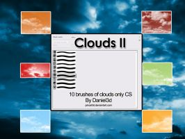 Brushes of Clouds II by pincel3d