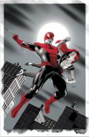 Amazing Spider-Man 646 Variant by mikemayhew