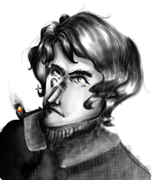 A puff from his pipe by italypizza25