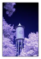 Water tower by Zoomwafflez