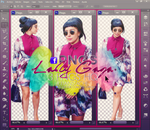 Lady Gaga Png's by LittleStache