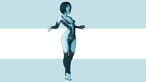 Cortana [Halo] by lucijankamikaza2