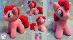 Mini Mare: Pinkie Pie by Ami-Plushies
