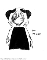 Ruki the panda by HiranoYume