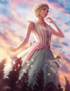 Alice in Wonderland: Growth by Zolaida