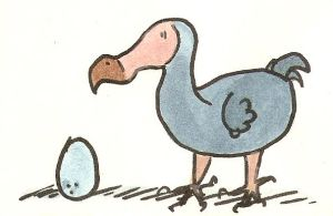 Dodo and the egg by ysyra