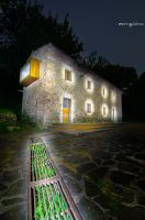The glowing house. by MarioGuti