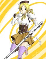 Tomoe Mami by bchart