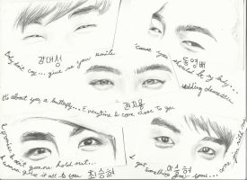 Bigbang's eyes by topistops
