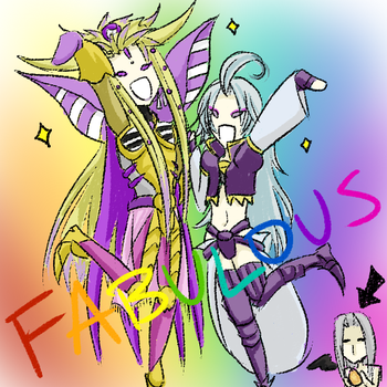 Request 10 - Mateus and Kuja by himichu