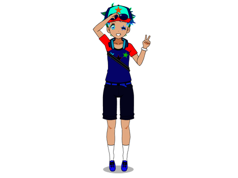 Me as a pokemon trainer by Pikachuisawesome60