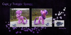 My Little Pony Crazy Twilight Sparkle Custom by kaizerin