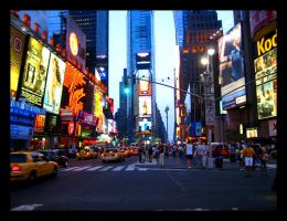Times Square by ti-ia