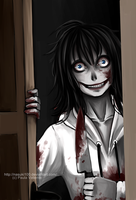 Jeff the killer has come by Nasuki100