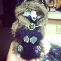 Tribal Blind Fox Doll (hand made) by UglyDoll311