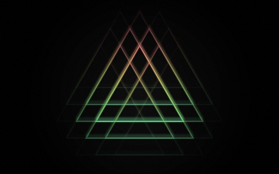 Triangle Neon by Clank010101
