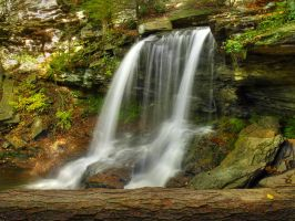 Ricketts Glen State Park 43 by Dracoart-Stock