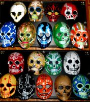18 masks by TheIronClown