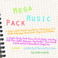Mega Music Pack by erenfenty-07