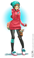 Pokemon - Molly n Marmolie by MLeth