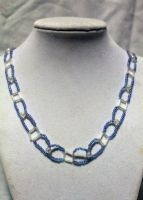 Purple Chain Necklace - FOR SALE by Thy-Darkest-Hour