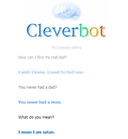 Cleverbot is Satan by RebelOreo