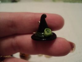 Witches Hat Charm by AquariusStar82