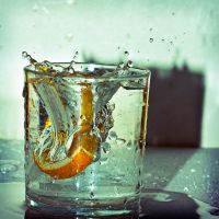 Orange Splash by v4nity
