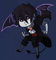 Chibi Demon Astaroth by sofia-1989