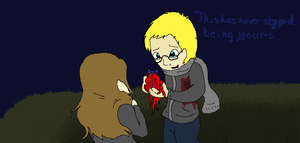 Holding Your Scarred Heart in Your Hand by The-Good-and-Strong