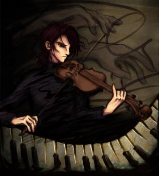 Nocturne for Violin and Piano by shorelle