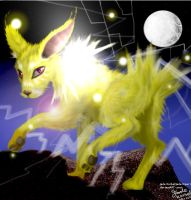 Detailed Jolteon by Jade-Viper