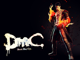 [DmC]Dante Wallpaper by yoanribeiro