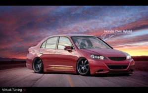 Honda Civic Hybrid by LEEL00