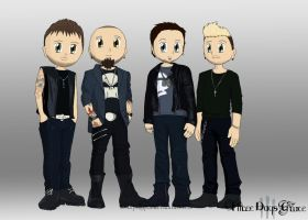Three Days Grace by SonicPikapal