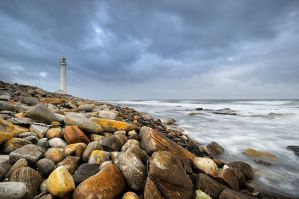 The lighthouse II by Naude